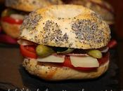 Bagels comté, coppa, tomates basilic huile d'olive!