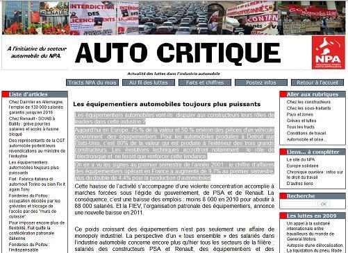 Npa auto critique un site pour prendre la temp rature syndicale dans la fili - Application pour prendre la temperature ...