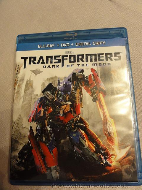 Arrivage blu ray transformers dark of the moon us et