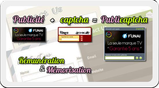slide captchme 1 publicaptcha remuneration memorisation1 Captch Me, solution optimale dantispam et de diffusion de campagnes publicitaires