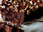 Gâteau chocolat noix pécan caramélisées
