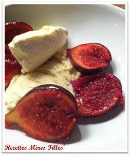 La recette Figue : Figues rôties au citron