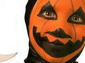 Maquillage Halloween Belle citrouille