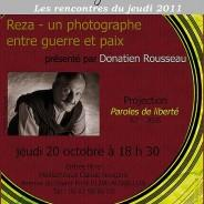 Exposition «Place à la Rue» photographies de REZA au Chateau de la Falgarié