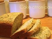 Cake citron pavot Valérie