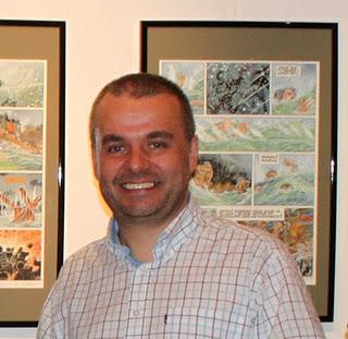 Exposition-vente BD : Airborne 44 de Philippe Jarbinet à la Galerie Napoléon