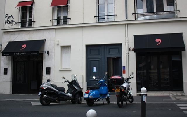 l chapp e entre spa urbain et restaurant parisien. Black Bedroom Furniture Sets. Home Design Ideas