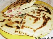 Cheese naans jambon (hallal