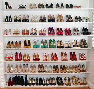 Dressing Chaussures ... Partie 4 : les  tag res de Shoeperwoman