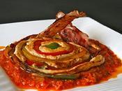 Mandala poulet basquaise cuit l'huile chorizo