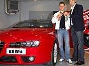 Casey Stoner reçu Alfa Brera Q-Tronic