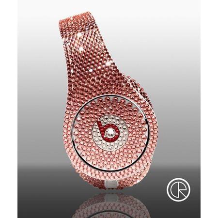 Limited-edition-Dr-Dre-Beats-Studio-Headphones-Swarovski-Light-Rose-2