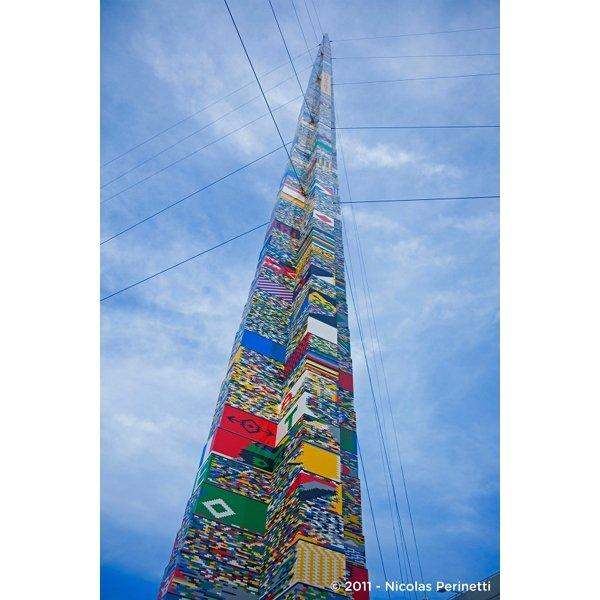 La tour lego la plus haute du monde est fran aise voir - Classement des plus hautes tours du monde ...