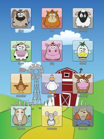 le jeu soundboom pour enfants est gratuit reconna tre les bruits de la ferme d couvrir. Black Bedroom Furniture Sets. Home Design Ideas