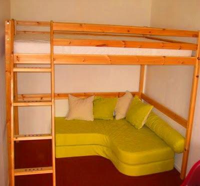 le cas du lit mezzanine paperblog. Black Bedroom Furniture Sets. Home Design Ideas