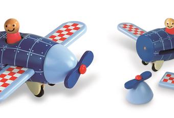 jouet avion en kit pour enfant un beau jouet pour les petits d s 18 mois d couvrir. Black Bedroom Furniture Sets. Home Design Ideas