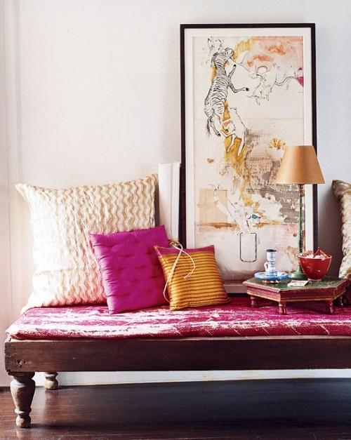Une d co indienne brooklyn paperblog - Deco chambre indienne ...