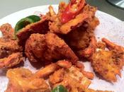 Fried lobster linai Chine