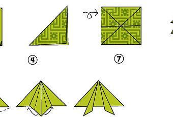 Origami grenouille - Origami facile grenouille ...