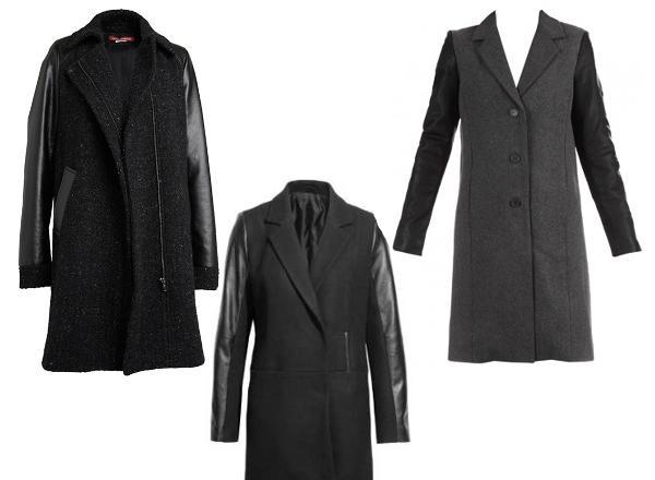 Gilet bi matiere comptoir des cotonniers sweater grey - Manteau bi matiere comptoir des cotonniers ...
