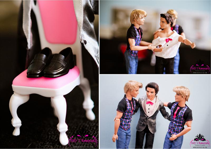 Le mariage de barbie et ken oui je le veux d couvrir - Le chat de barbie ...