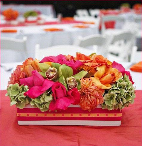 decoration de mariage rose fushia id es et d 39 inspiration sur le mariage. Black Bedroom Furniture Sets. Home Design Ideas
