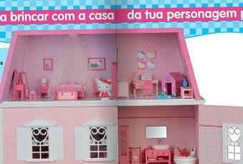 Une collection pour faire une maison hello kitty paperblog - Maison de poupee hello kitty ...