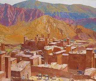Artcurial vente de tableaux orientalistes paperblog - Peintre majorelle oeuvres ...