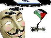 Anonymous attaquent Israël bloquent sites sensibles.