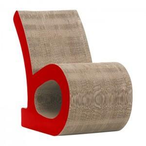 des meubles en carton 100 recycl et 100 design. Black Bedroom Furniture Sets. Home Design Ideas