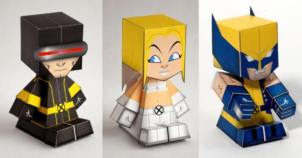 Blog_Paper_Toy_papertoys_X_MEN_Luis_Renato_Kriegel