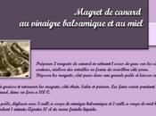 """Recette """"Magret canard vinaigre balsamique miel"""""""