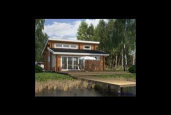 Puutalo ranskaan maison en bois finlandaise paperblog for Maison en bois finlandaise