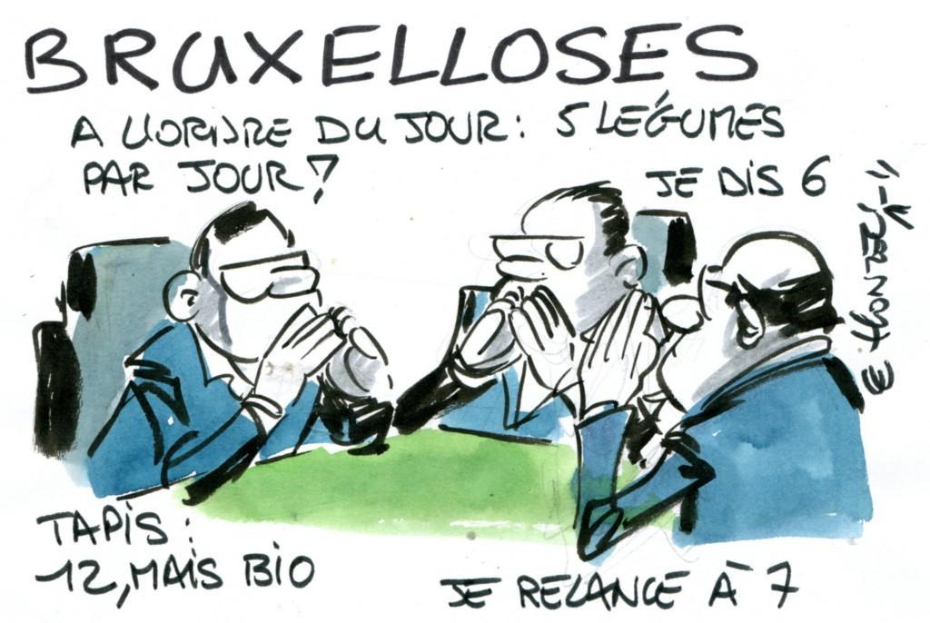 Pour Bruxelles, boire de l'eau n'empêche pas la déshydratation