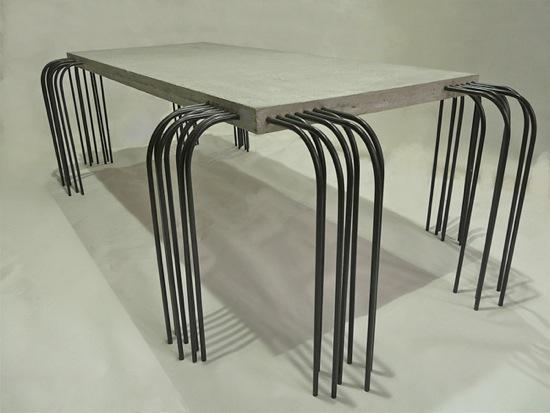 Table En B 233 Ton Et Fer Rafael Gomez 192 D 233 Couvrir
