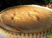 Tarte crème marron pâte sucrée l'anis vert