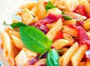Penne salade [Coppa-Mozza-Basilic]