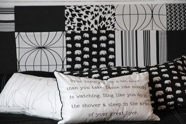 diy une t te de lit graphique paperblog. Black Bedroom Furniture Sets. Home Design Ideas