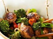 Boulettes bœuf oignons légumes