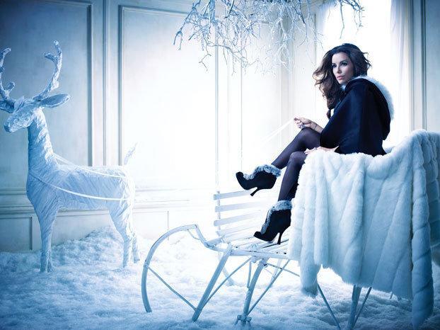 eva longoria princesse des neiges pour le magazine vanity fair espagne