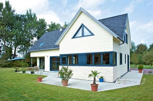 faire construire une maison bois cologique et design d couvrir. Black Bedroom Furniture Sets. Home Design Ideas