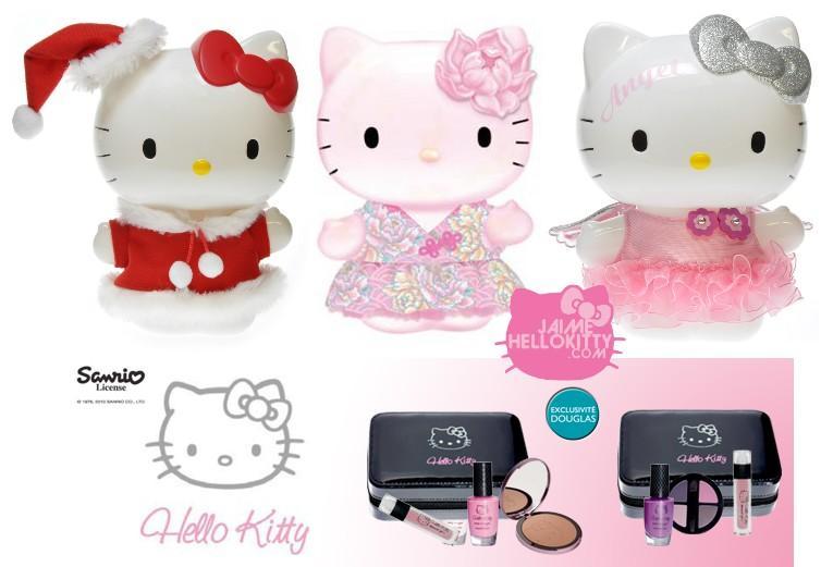 Id es shopping hello kitty pour no l chez douglas paperblog - Hello kitty noel ...