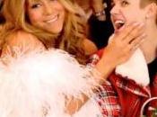 Justin Bieber rencontre Mère Noël...alias Mariah Carey