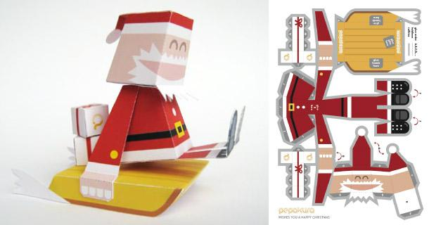 Blog_Paper_Toy_papertoy_Pere_Noel_Marshall_Alexander