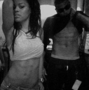 Chris Brown  Teyana Taylor on Chris Brown   Teyana Taylor En Duo Sur      Push Me Up       Paperblog