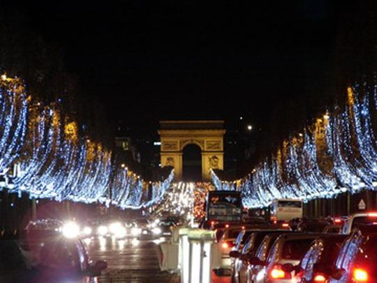 Les illuminations de noel paris paperblog - Illumination de paris ...