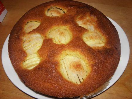 G teau aux pommes et noix de coco voir - Gateau aux noix et pommes ...