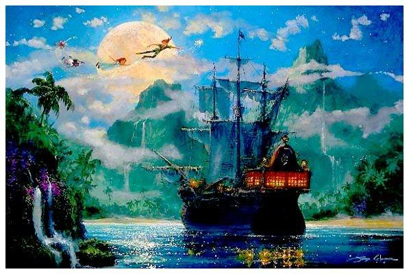 Michael jackson en peter pan paperblog - Bateau pirate peter pan ...