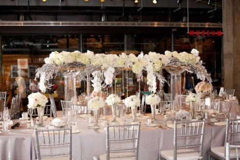 decoration de mariage rose et argent Quotes