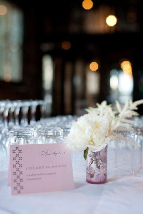 decoration de mariage rose et argent - Paperblog
